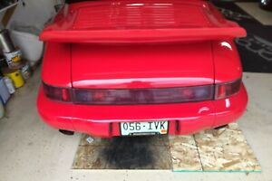 Porsche 964 911 tail lights, Left & Right & Center USED all three lights 1989-94