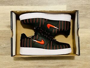 Nike Air Force 1 Jewel QS 'Chicago' Black Red CU6359-001 Women's 9.5, Men's 8