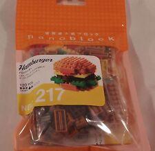 Kawada nanoblock Mini Hamburger - japan building toy block NEW NBC_217 Worldwide