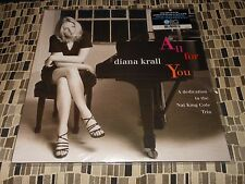Diana Krall All For You A Dedication To Nat King Cole 2Lp ORG 45/180g Sealed