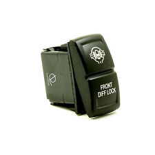 Lumision LED Rocker Switch 4x4 OFF-road laser etched - Front Diff. Lock