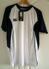Canterbury of New Zealand Men's Speed Dry Training Tee White / Navy Size Small