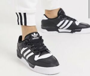Adidas Originals Rivalry low sneakers in black Size 10 USA, 44 Europe, 11 UK