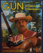 Vintage Magazine GUN WORLD June 1968 !!! LAMES 12-GAUGE OVER/UNDER SHOTGUN !!!