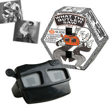 NEW WHAT THE BUTLER SAW NOVELTY 3D RETRO SLIDESHOW VIEWER MENS NAUGHTY CHEEKY