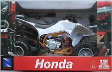 NewRay - Honda Quad TRX 450R (2009) weiß 1:12 Neu/OVP