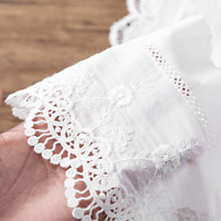 1yard Cotton Lace Ribbon Trims Fabric Sewing DIY Wedding Garment Accessories