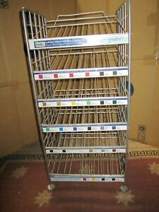 LIQUITEX  Designed Heavy Duty Stainless Steel  Rack for Paint Display