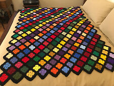 Handmade Afghan / Throw Blanket - Designer Collection - Scrap Extraordinaire