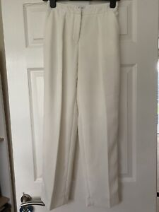 Reiss White Formal Work Trousers Size 4