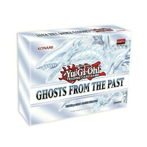 YuGiOh Ghosts from the Past Mini-Box SEALED 3 PACKS PER BOX IN HAND