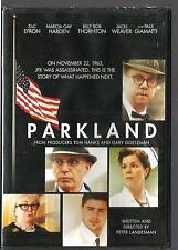 PARKLAND (DVD) Zac Efron - Jeremy Strong - Billy Bob Thornton - NEW SEALED