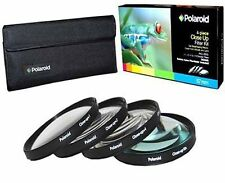 Polaroid Optics 58mm 4 Piece Close Up Filter Set (+1, +2, +4, +10)