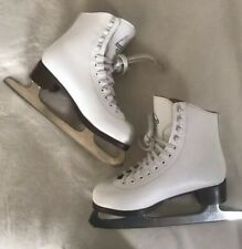 Glacier Jackson Ice Skates Girls Size 5 Pre-Owned