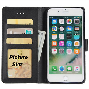 Case For Apple iPhone 6s 6 7 8 5 Se XR X Plus Magnetic Flip Leather Wallet Cover
