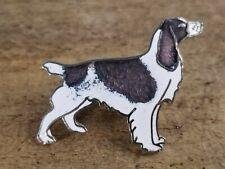 Vintage Signed MARCO Puppy Dog Shepherd Enamel Artist Made BROOCH PIN Lot G