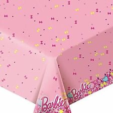 Tablecloths Polyethylene Barbie table ware Birthday Party Favors Party cover