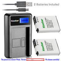 Kastar Battery LCD Charger for Nikon EN-EL12 & Nikon Coolpix S9700s Coolpix P340