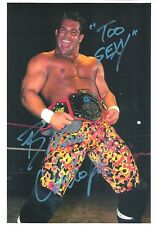 m1013 Brian Christopher signed 8x10 Historic wrestling photo /Coa *Bonus*