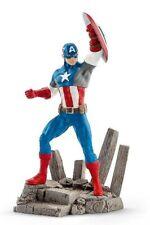 Schleich 21503 Captain America 4 11/16in Gift Box Series Comic