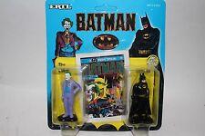 ERTL DC Comics Super Hero Figures, Batman and Joker, Diecast Metal
