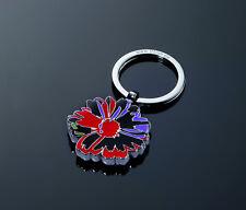 TROIKA FLOWER Andy Warhol design Schlüsselhalter Keyring