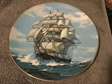 The Twilight Under Full Sail .1st Issue in the Clipper Series Plates