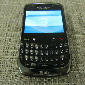 BLACKBERRY CURVE 9300 - (AT&T) CLEAN ESN, WORKS, PLEASE READ!! 38487