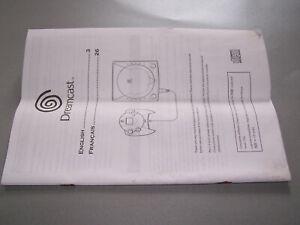 Original Manual for the Sega Dreamcast Console. UK Version