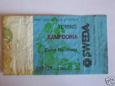 TORINO - SAMPDORIA BIGLIETTO TICKET 1986 / 87
