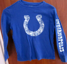 Indianapolis Colts youth small T shirt longsleeves Old Navy tee Nfl thermal