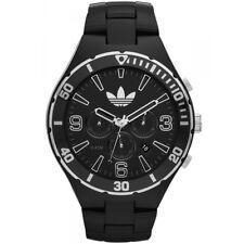 Adidas ADH2741 MELBOURNE BLACK MENS Chronograph Analog  atch $125.00