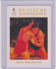 1996 DEUTSCHE OLYMPIAKARTEN ~ MAIK BULLMANN OLYMPIC CARD #87 ~ WRESTLING