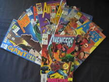 10 AVENGERS COMICS-No.372-381-MARVEL ISSUED-VIEW PHOTO.