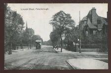 Northants PETERBOROUGH Lincoln Rd Tram 1922 PPC