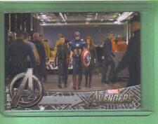 AVENGERS Movie Assemble Upper Deck Card Captain America #158