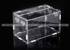 Acrylic DIY Terrestrial Acrylic Reptile Terrarium Geico Snake Frog 25*15*15cm
