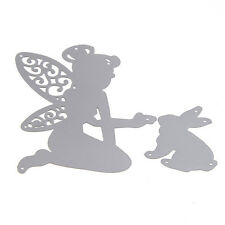 New Fairy Girl Cutting Dies Stencils Scrapbooking Album Embossing Craft Tool
