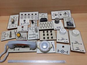 19 Elektro Bauteile Phylatex Physik Geräte/ SCOLI/ Polytronik, Physikunter, gebr