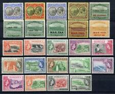 Dominique GV-Early QEII Comme neuf Lot. valeurs à 3/-, 1.20 $. Inc Spécimen. mm, neuf sans charnière