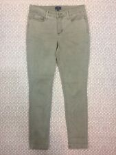 NYDJ Not Your Daughters Jeans Leggings Size 4 Women's Beige Tan 5-Pocket A14