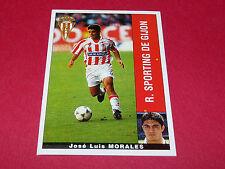 JOSE LUIS MORALES R. SPORTING GIJON PANINI LIGA 95-96 ESPANA 1995-1996 FOOTBALL