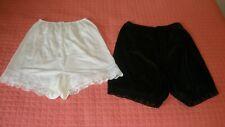 Vintage Nylon Panties (Tap Pants) Vanity Fair, & Amber Lingerie  Size 5 & 6