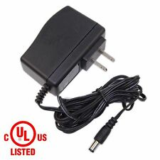12V 500mA 0.5A Adapter / Transformer / Power Supply with 5.5mm/2.5mm UL-Listed