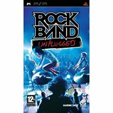 Rock Band Unplugged PSP Very Good 5Z