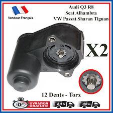 2X Servo Moteur (12) électrique d'etrier de frein arriere 3C0998281 AUDI SEAT VW