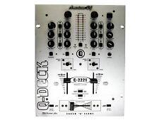 AMERICAN DJ Q-2221 MIXER CONTROL HAMSTER SW FX 3 BAND EQ ROTARY KILLS FADERS +FP