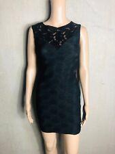 GUESS - chices Abendkleid Kleid m. Spitze schwarz *K100  -  NEU Gr 36 S 542ma