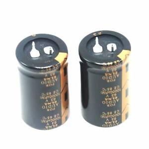 2pcs ELNA 10000uF 63V Hi-Fi Electrolytic Capacitor FOR AMP AUDIO Amplifier Board