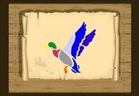 Flying Duck Taking off  Stencil  350 micron Mylar not thin stuff #Bird022